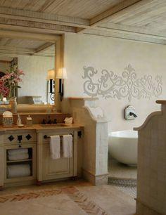 stencil idea for above crib