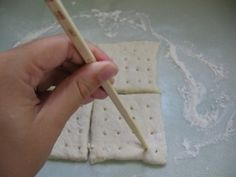 Survival Food 101: How To Make Hardtack AKA Crackers on Guide For Prepping and Surviving at http://guideforpreppingandsurviving.com/survival-food-101-how-to-make-hardtack-aka-crackers/#