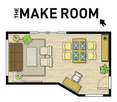 VERY COOL WEBSITE. enter the dimensions of your room and the things you want to put in it helps you come up with ways to arrange design home design house design interior design house design Deco Design, Design Design, Interior Exterior, My New Room, Architecture, My Dream Home, Future House, Home Projects, Family Room