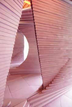 Turning Pink | Leong Leong Architecture | room installation in NYC at W/ Project Space in Chinatown