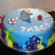 Dolfijn taart maart 2014