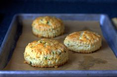 Jalepeno-Cheddar Scones - I made these tonight with chipotle chicken posole.  Wow.  They are delicious.