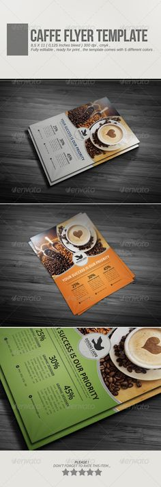 Caffe Flyer Template