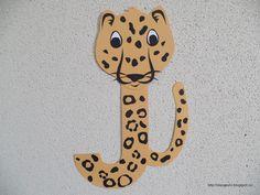 Clasa pregatitoare: Litera J de la jaguar