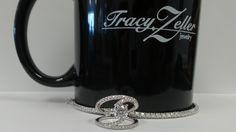 Bling!  Laura's diamond ring AND her diamond tennis bracelet!  #TZJMUGSHOTS