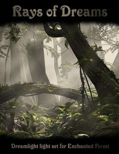 Rays of Dreams for Enchanted Forest in Vendor, Dreamlight, 3D Models by Daz 3D
