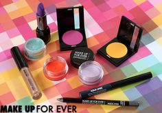 Makeup Forever has the spring #Pantone colors available at Sephora. {via Makeup and Beauty Blog}