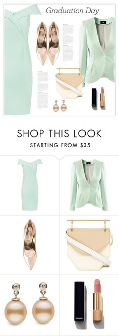 """""""Congrats, Grad: Graduation Day Style"""" by bliznec ❤ liked on Polyvore featuring H&M, Casadei, M2Malletier, Chanel, Graduation, polyvoreeditorial and polyvorecontest"""