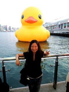 rubber duck in hk