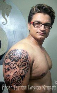 Satty Tattoo Artist. at Angel Tattoo Design Studio : Known for Best Tattoo Artist services in Gurgaon Delhi-NCR - India. Thanks !