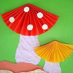 Kids Crafts, Toddler Crafts, Preschool Crafts, Diy And Crafts, Arts And Crafts, Autumn Crafts, Spring Crafts, Art Plastic, Diy Paper