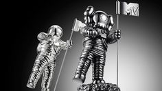 Kaws Redesigned The MTV VMA Moonman