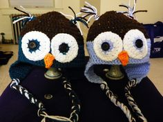 Owl Hats - Teen/Small Adult Size - pinned by pin4etsy.com