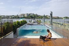 A subtropical house evocative of historic boat building sheds that lined the banks of the Brisbane River. Historically boat building sheds lined the Bulimba. Brisbane River, Timber House, Boat Building, Shed, Australia, Landscape, Studio, Outdoor Decor, Tasty