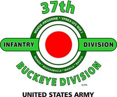"""37th Infantry Division """" Buckeye Division"""" United States Army Shirt"""