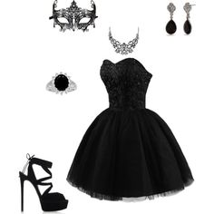A fashion look from February 2016 featuring mini dress, white halloween costumes and black shoes. Browse and shop related looks.