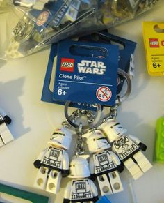 LEGO Keychain Star Wars NEW Minifig Minifigure Party Favor Wholesale Lot...$7.75