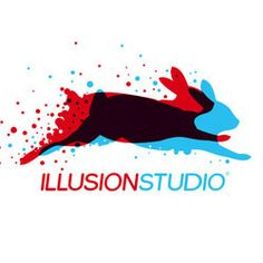 IllusionStudio logo by Adrian Knopik, via Behance. I love the overlapping and imagery here. so clever.