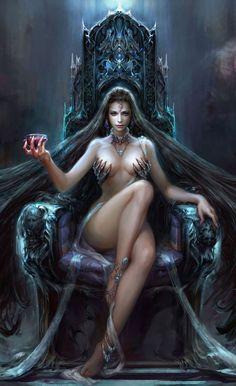 Reina de los condenados detallada