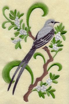 Scissor Tailed Flycatcher OK State Bird With White Oak Tree Would Add Larger