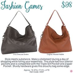 Fashion Games by Thirty-One. Fall/Winter 2016. Click to order. Join my VIP…