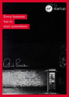 Richard Branson started-up in a phone box. you can start-up anywhere...