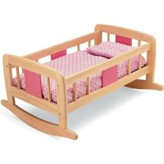Pintoy Dolls Rocking Cradle from Pintoy £38.24
