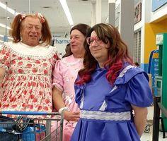 31 personnes bizarres et curieuses croisées dans un supermarché...