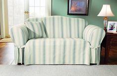 Flexsteel Sofa Striped Sofa Slipcovers