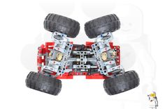 42005 Monster Truck - Motorized and RC - LEGO Technic and Model Team - Eurobricks Forums Lego Moc, Lego Lego, Lego Mindstorms, Mustache Party, Lego Birthday, Lego Design, Lego House, Lego Models, Lego Projects