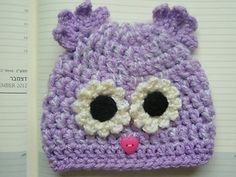 Mix Color Crochet Owl Baby Hat Boy Girl 0 3mo Beanie Bird Cap Gift Photo Prop | eBay