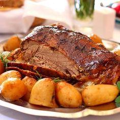 Miel in crusta Thanksgiving Dinner Recipes, Thanksgiving Side Dishes, Holiday Recipes, Lamb Recipes, Cooking Recipes, Easter Dishes, Easter Lamb, Romanian Food, Easter Recipes