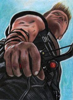 Hawkeye by Javier Gonzalez Avengers 2012, Avengers Movies, Comic Books Art, Comic Art, Marvel Dc, Marvel Comics, Javier Gonzalez, Best Avenger, Phil Coulson