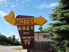 Motel Kozy sign by speckerj, via Flickr