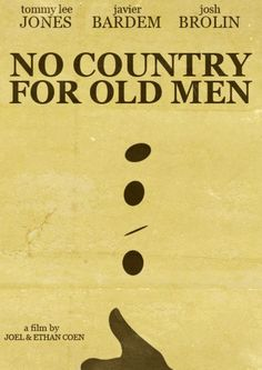 No Country for Old Men | Coen Brothers. Very violent but the way they evoke a mood, the cinematography, acting etc. is outstanding.