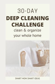 Deep clean your home with this deep cleaning challenge. Print your free deep cleaning challenge and start working on a cleaner home today. Diy Home Cleaning, Speed Cleaning, Deep Cleaning Tips, Diy Cleaning Products, Spring Cleaning, Cleaning Hacks, Cleaning Lists, Cleaning Schedules, Reward Chart Kids