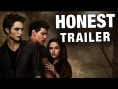 Honest Trailers - Twilight 2: New Moon...I hate twilight...I love this, which explains some of the many reasons I hate twilight lol