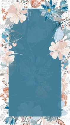 Small art hand-painted hand-painted flower border blue background Source by flavianemachado Ankara Nakliyat Flower Background Wallpaper, Cute Wallpaper Backgrounds, Blue Wallpapers, Flower Backgrounds, Trendy Wallpaper, Art Background, Wallpaper Quotes, Blue Wallpaper Iphone, Framed Wallpaper