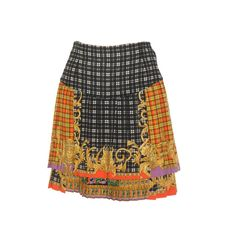 Gianni Versace Bondage Collection Tartan Skirt Fall 1992 | 1stdibs.com