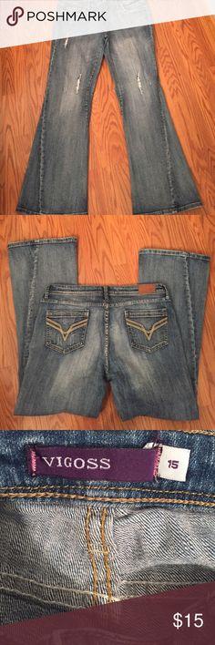 """Vigoss jeans Vigoss bootcut jeans, inseam 30"""" Vigoss Jeans Boot Cut"""