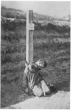 French Traitor Executed for passing on information about allied troop movements to the Germans. World War 1.