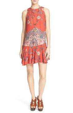Free People Mixed Print Slipdress available at #Nordstrom