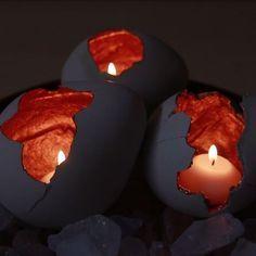 Make Magic With These DIY Concrete Dragon Eggs