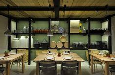 Farma Kreaton Restaurant [Greece]  AWESOME interior design