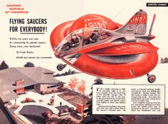 """""""Flying Saucers for Everybody!"""", 1957 Retronaut 
