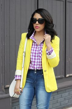 A Love Affair With Fashion : Spring Color Play