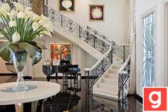 love the railing on the stairs