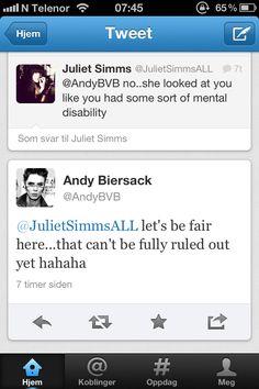 Fuck yeah, Andy Biersack!