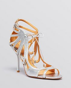 Badgley Mischka Lace Up Ghillie Evening Sandals - Grace High Heel on Chiq $245.00 : Buy Trends on CHIQ.COM http://www.chiq.com/badgley-mischka-lace-ghillie-evening-sandals-grace-high-heel