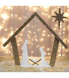 Learn to Make a Nativity Silhouette